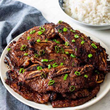 grilld asian short ribs